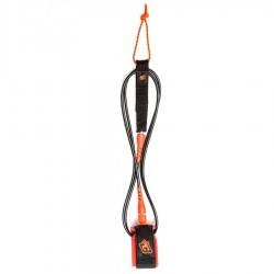 Creatures Of Leisure Leash Comp 6' black orange