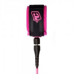 Creatures Of Leisure Leash longboard 9' ankle pink black