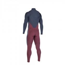 Combinaison Ion Onyx Core Semi Dry 5/4 mm frontzip slate blue red