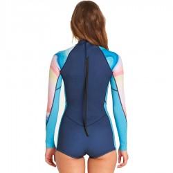 Billabong 2/2 Spring Fever LS back zip mirage
