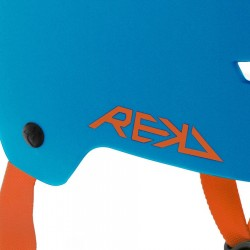 Casque Rekd Elite Helmet blue orange