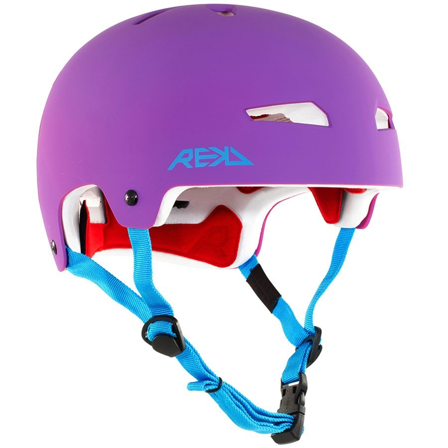 Casque Rekd Elite Helmet purple blue