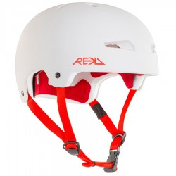Casque Rekd Elite Helmet white red