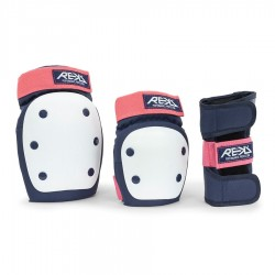 Set de protections Heavy Duty REKD black pink