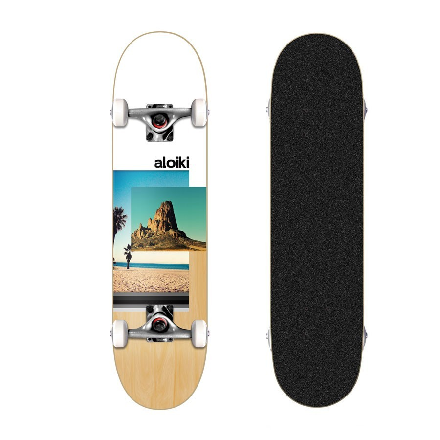 "Skateboard Aloiki ROCK 7.8"" MC Complete"