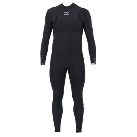 Billabong Furnace Comp 4/3 Chest Zip Black