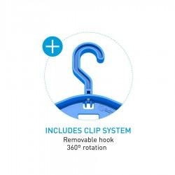 Surflogic Wetsuit Hanger Pro Double système
