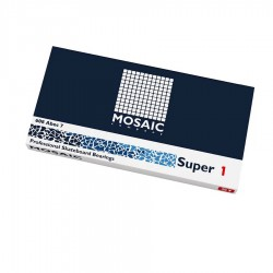 Super 1 Abec 7 608RS Black Mosaic Bearin