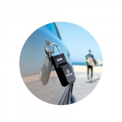Cadenas Surflogic Key Security Lock black