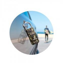 Cadenas Surflogic Key Security Lock camo