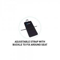 Housse de siège auto Surflogic Waterproof clip system single black