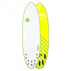 Softech Brainchild FCSII 6'6 Green Wave