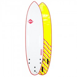 Softech Brainchild FCSII 7'6 Red Wave