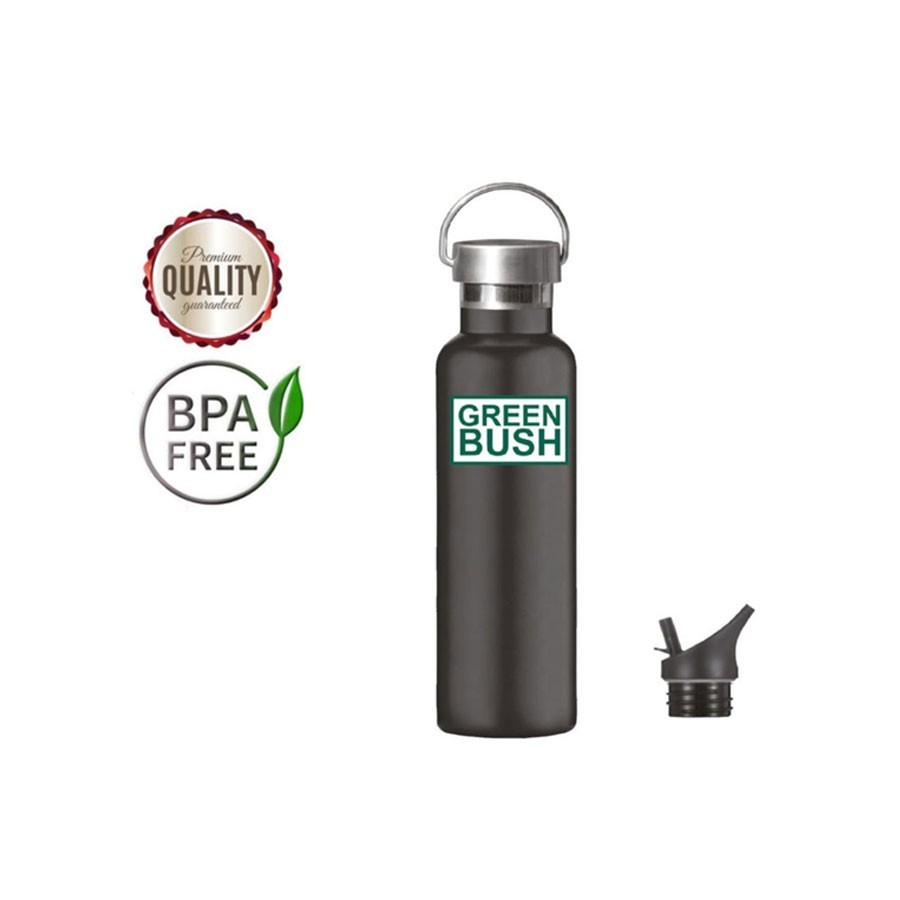 Greenbush gourde en acier inoxydable standard 621 ml