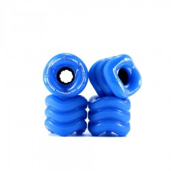 Shark Wheel CALIFORNIA Set 60mm 78A solid blue