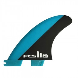 FCS II Mick Fanning PC Tri Fins set blue black