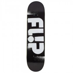 Team Odissey Stencil black 8.25'' deck Flip