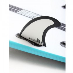 FCS II Al Merrick Performance Core Tri Fins Set grey large