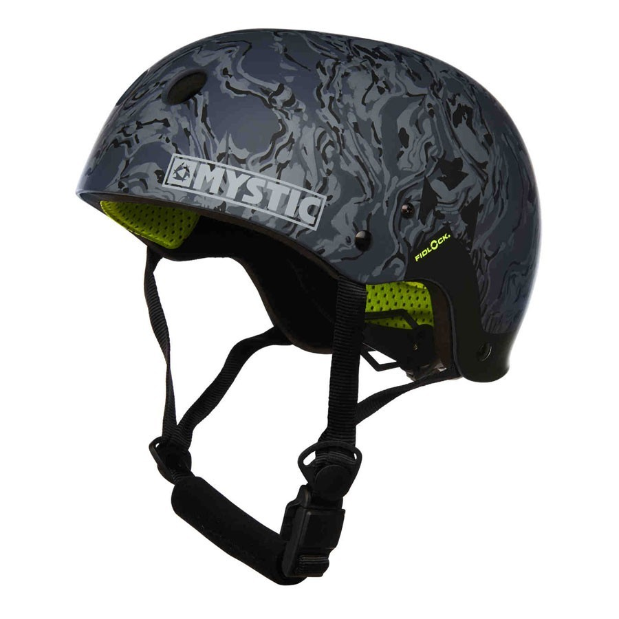 Casque Mystic MK8 X navy lime