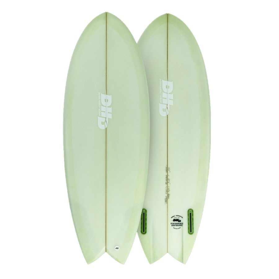 DHD Summer Series Mini Twin II 5'3 FCSII green