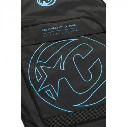 Housse BodyBoard  Creatures Of Leisure Day use black cyan