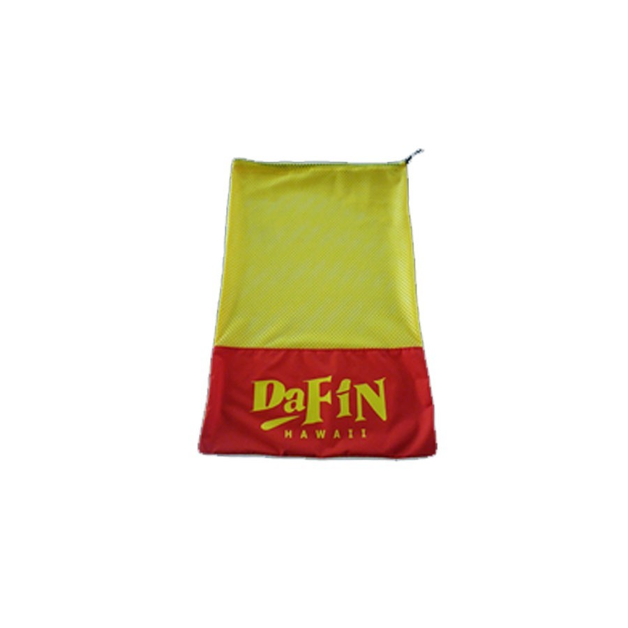 Dafin Mesh Bag red yellow