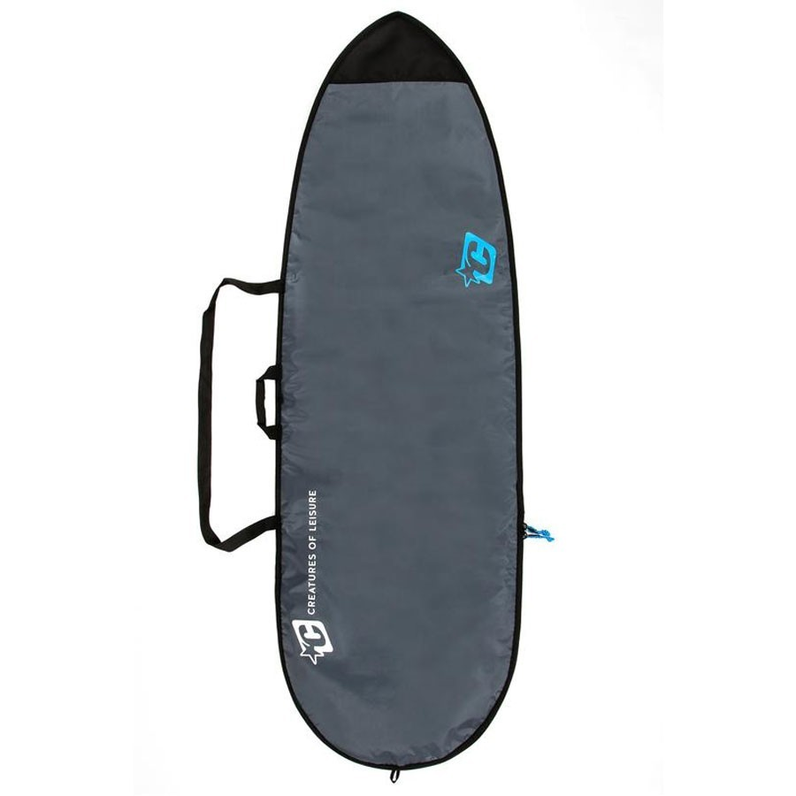 Housse Fish Lite 7'6 Creatures of Leisure charcoal cyan