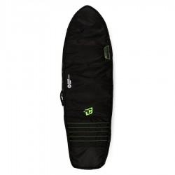 Housse Créatures Shortboard Double 6'3'' - Charcoal/Lime