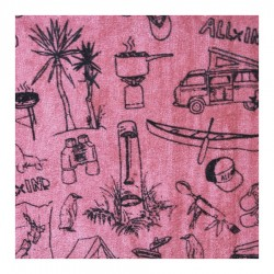 All In Sweet Mat couverture sol camping print