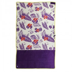 All In Beach Towel exotic print