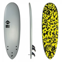 Softech 5'10 Bomber grey acid FCS II