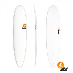 Mini Malibu Torq Mini Long 8'0 Pinline white