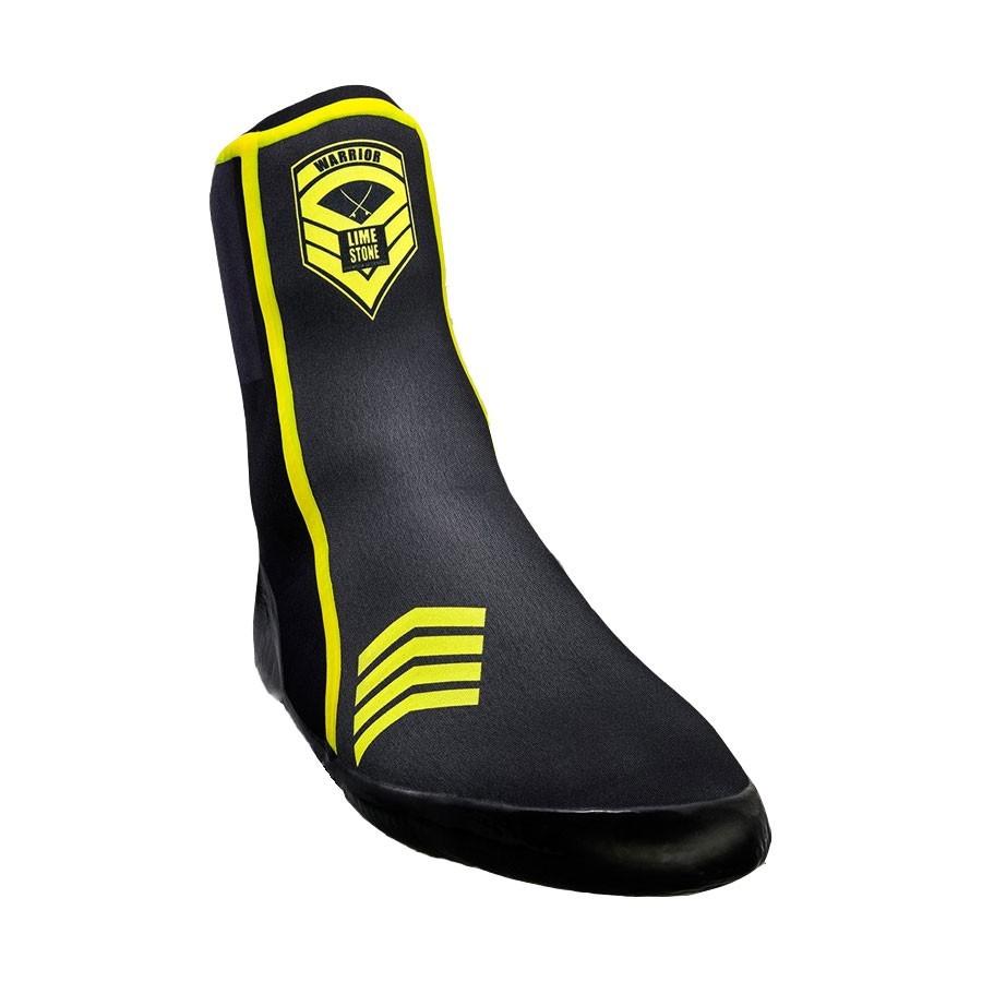 Wetty - chaussons néoprène 3mm Warrior yellow