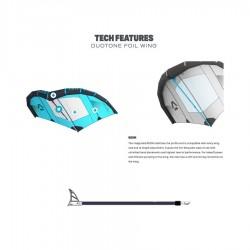 Duotone Foil Wing CC8 bleu menthe 4m2