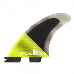 FCS II Carver Performance Core Tri Fins set acid black