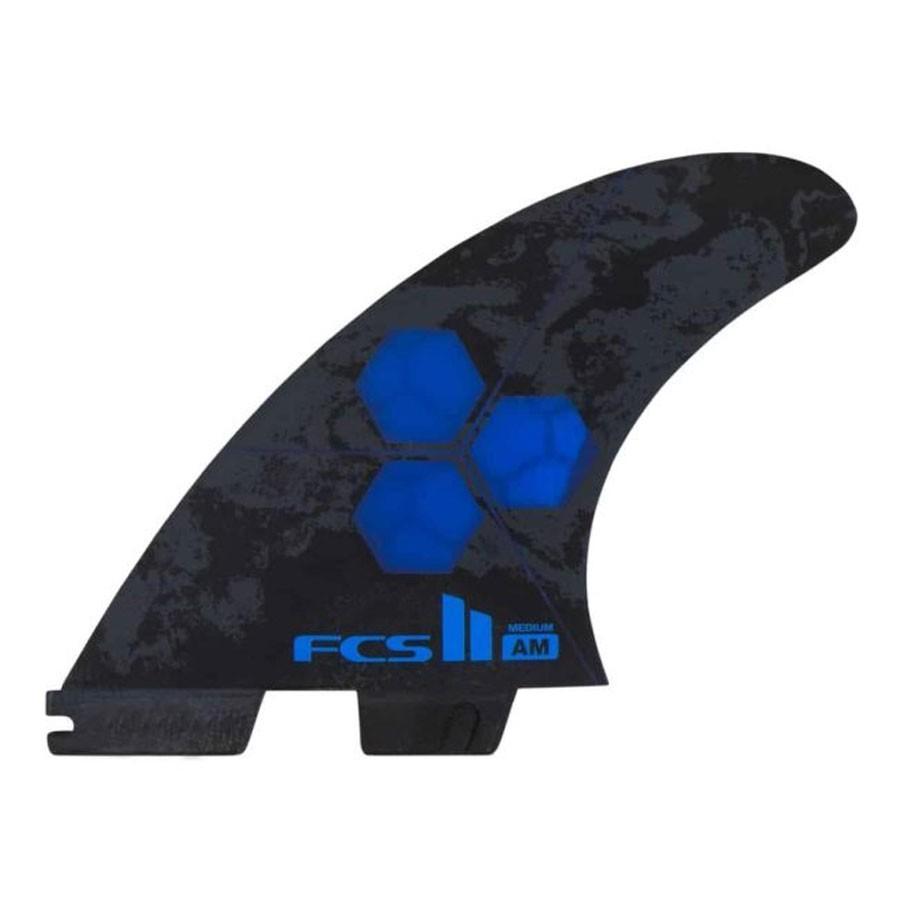 FCS II Al Merrick Performance Core Tri Fins cobalt