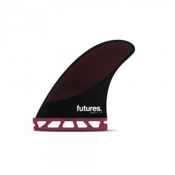 Futures Fins P6 Legacy medium Tri fins set burgundy black
