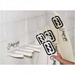 Rack mural Surf Finger Grip