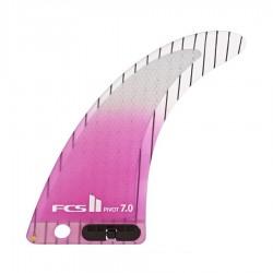 "FCS II Dérive Pivot PCC Longboard purple 7"""