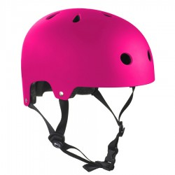 Casque Sfr Essensial Matt fluo Pink