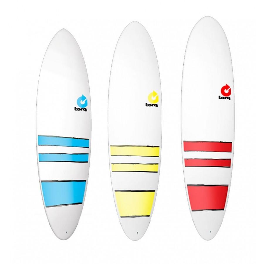 planche de surf torq mini malibu fun bands planches surf. Black Bedroom Furniture Sets. Home Design Ideas