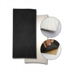 Plaque pad autocollant noir