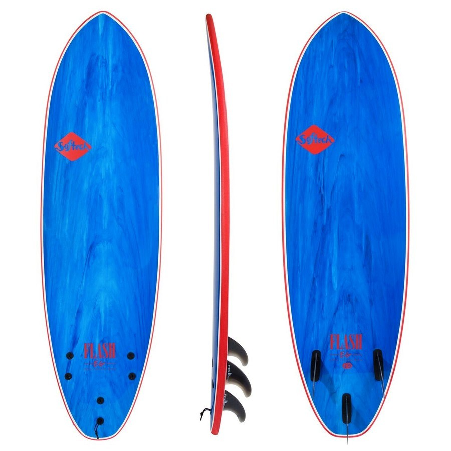 Softech Flash Eric Geiselman 7'0 blue marble
