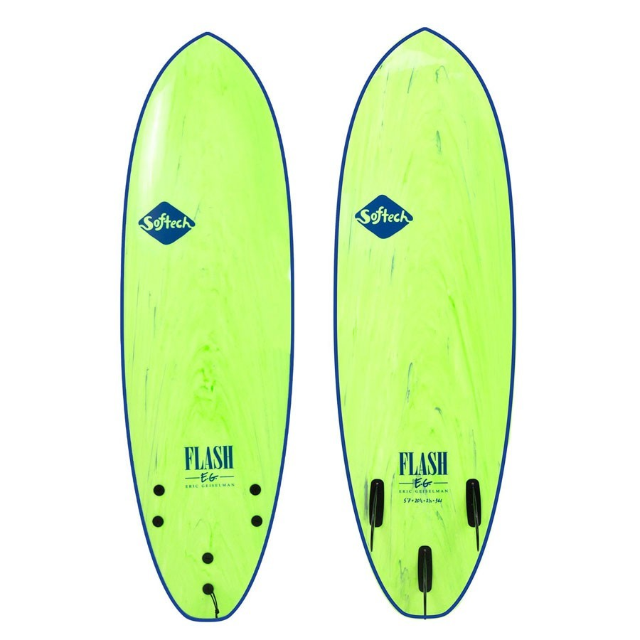 Softech Flash Eric Geiselman 5'7 green marble