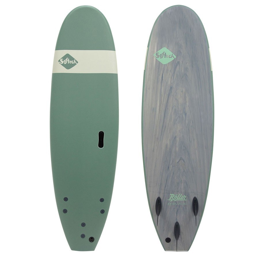 Softech 7'6 Roller smoke green