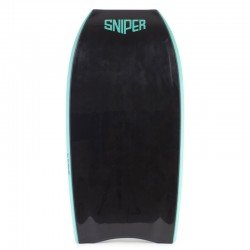 Bodyboard Sniper Pulse PP crescent tail Black Black