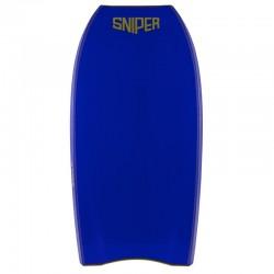 Bodyboard Sniper Pulse NRG crescent tail Mustard Electric Blue