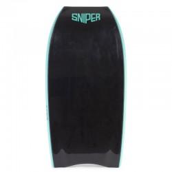 Bodyboard Sniper Pulse NRG crescent tail Black Black