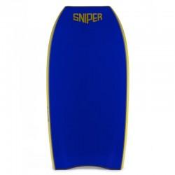 Bodyboard Sniper Pulse NRG crescent tail Dark Blue Electric Blue