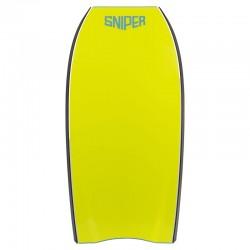 Bodyboard Sniper Unit Aqua Blue Fluro Yellow